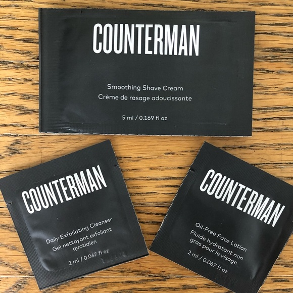 Beautycounter Counterman Samples NWT